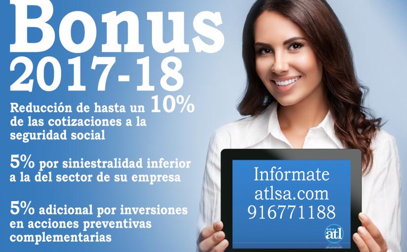 Bonus 2017-18, ahorra dinero de la Seguridad Social